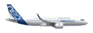 Airbus A320neo airplane