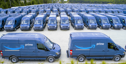 Amazon Executes on Branded Parcel Delivery Van Service Capabilities