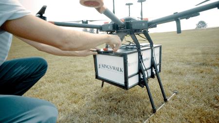 Flytrek Golf Course Drone Delivery