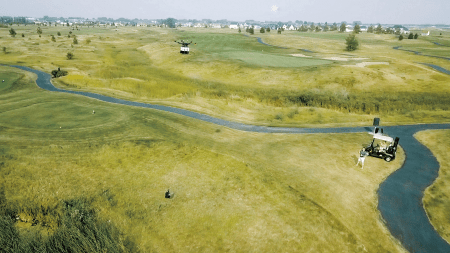 Flytrex Golf Couse Drone Delivery