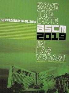 ASCM 2019
