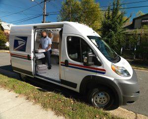 US Postal Service Van