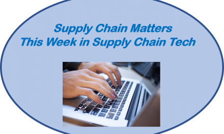 Featuring November 1 2019 Edition of This Week in Supply Chain Tech