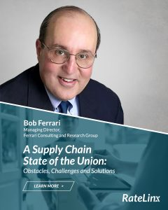 Bob Ferrari Supply Chain Industry Analyst