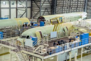 Commercial aircraft manufacturing