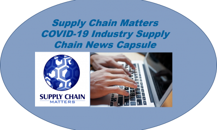 COVID-19 Multi-Industry Supply Chain Disruption News Capsule- September 11, 2020