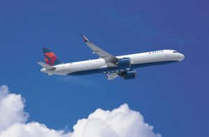 Delta Airlines Airbus aircraft