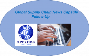 Supply Chain Matters News Capsule