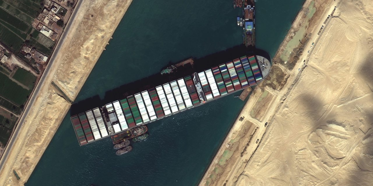 Container Ship Ever Given Finally Sets Sail But Precedent Has Occurred