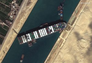 Ever Given Suez Canal incident